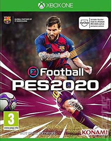 eFootball: PES 2020 - Xbox One Cover & Box Art