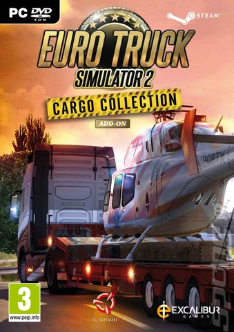 Euro Truck Simulator 2: Cargo Collection Add-on - PC Cover & Box Art