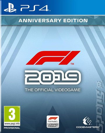 F1 2019 - PS4 Cover & Box Art