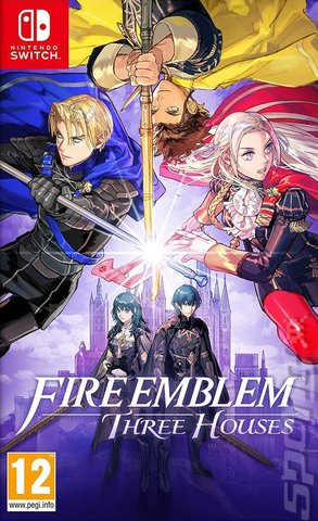 Fire Emblem: Three Houses - Switch Cover & Box Art