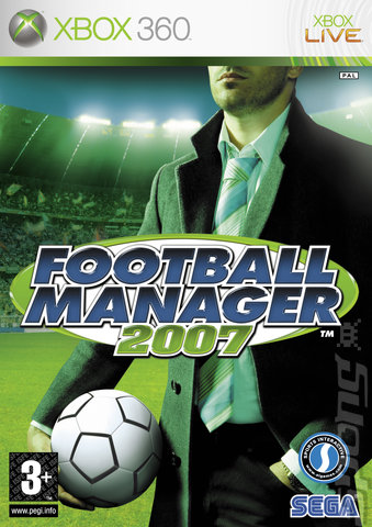 Football Manager 2007 - Xbox 360 Cover & Box Art