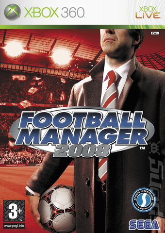 Football Manager 2008 - Xbox 360 Cover & Box Art