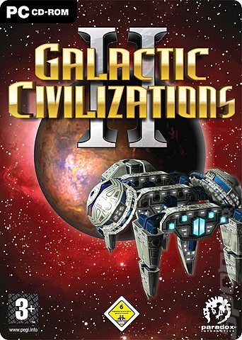 Galactic Civilizations II: Dread Lords - PC Cover & Box Art