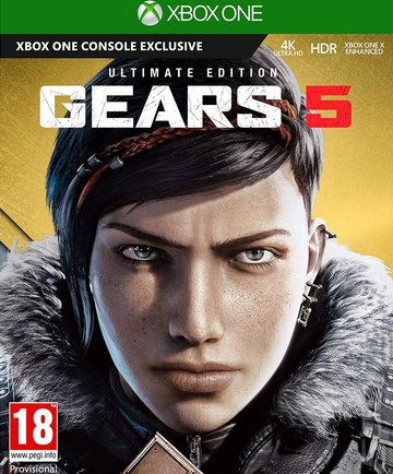 Gears 5 - Xbox One Cover & Box Art