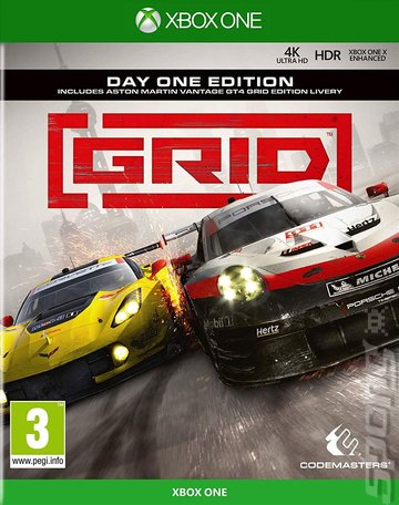 GRID - Xbox One Cover & Box Art