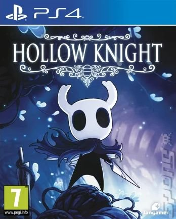 Hollow Knight - PS4 Cover & Box Art