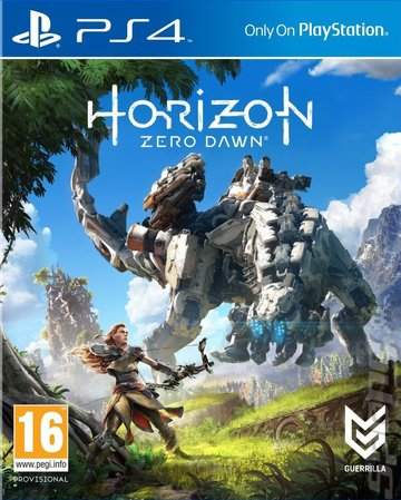 Reviews >> Covers & Box Art: Horizon: Zero Dawn - PS4 (3 of 4)