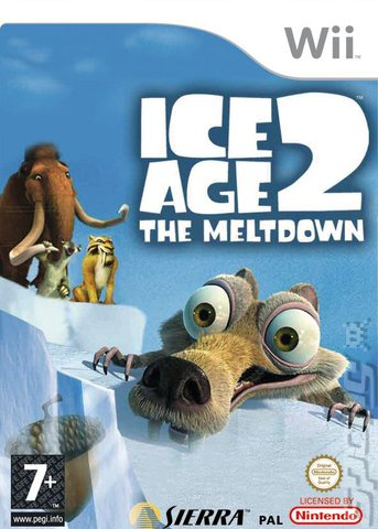 Ice Age 2: The Meltdown - Wii Cover & Box Art