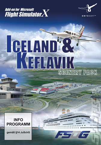 Iceland & Keflavik Scenery Pack - PC Cover & Box Art