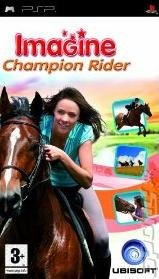 Imagine Champion Rider 2009 - PSP Cover & Box Art
