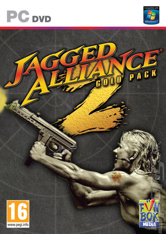 Jagged Alliance 2: Gold Pack - PC Cover & Box Art