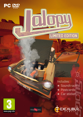 Jalopy - PC Cover & Box Art