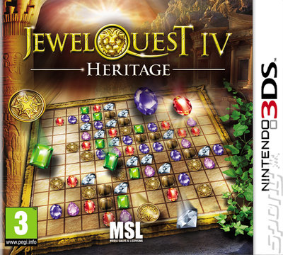 Jewel Quest IV: Heritage - 3DS/2DS Cover & Box Art