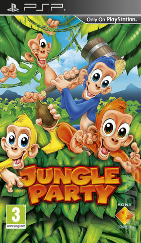 Jungle Party - PSP Cover & Box Art