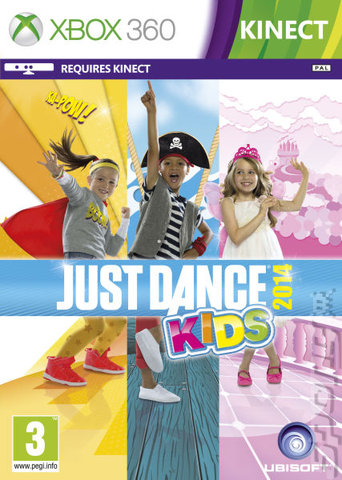 Just Dance Kids 2014 - Xbox 360 Cover & Box Art