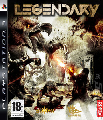 Legendary - PS3 Cover & Box Art
