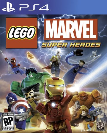 LEGO Marvel Super Heroes - PS4 Cover & Box Art