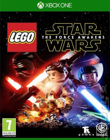 LEGO Star Wars: The Force Awakens - Xbox One Cover & Box Art