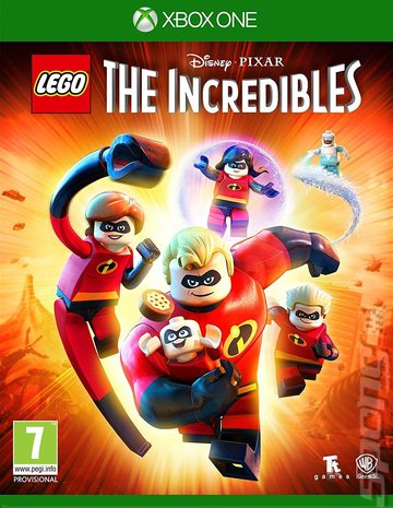 LEGO The Incredibles - Xbox One Cover & Box Art