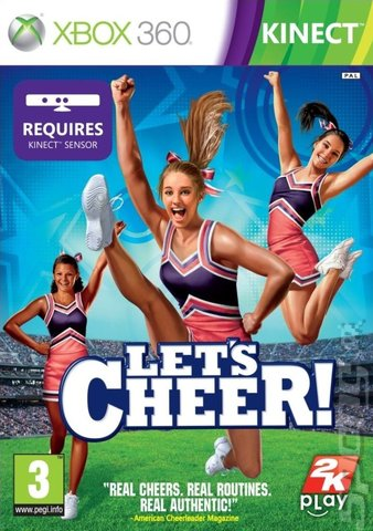 Let's Cheer - Xbox 360 Cover & Box Art