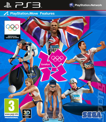 London 2012: The Official Video Game of the Olympic Games - PS3 Cover & Box Art