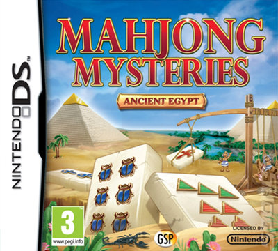 Mahjong Mysteries : Ancient Egypt DS
