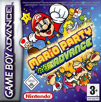 Mario Party Advance - GBA Cover & Box Art