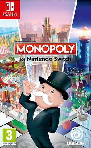 Monopoly for Nintendo Switch - Switch Cover & Box Art