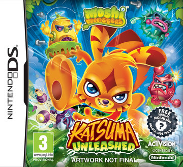 Moshi Monsters: Katsuma Unleashed - DS/DSi Cover & Box Art
