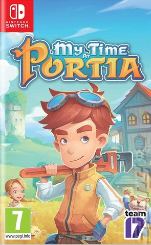 My Time at Portia - Switch Cover & Box Art