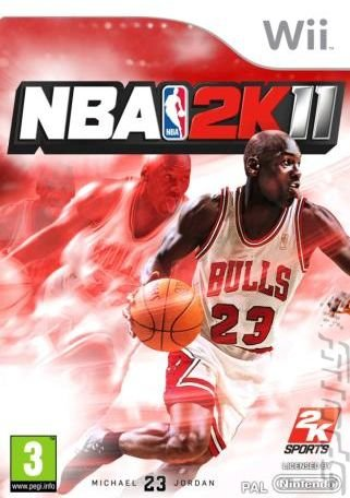 NBA 2K11 - Wii Cover & Box Art