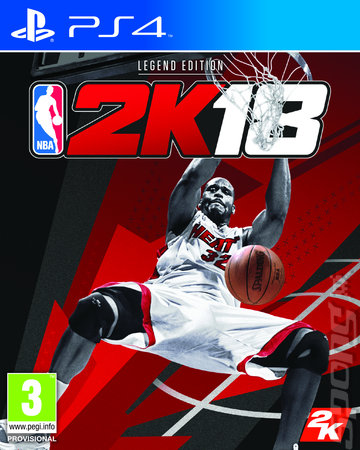 NBA 2K18 - PS4 Cover & Box Art