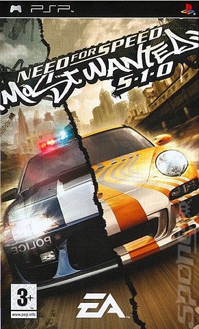 Need For Speed: Most Wanted 5-1-0 - PSP Cover & Box Art