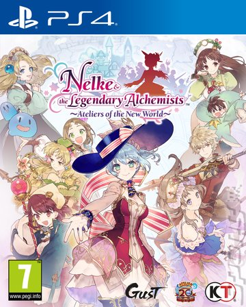 Nelke & the Legendary Alchemists: Ateliers of the New World - PS4 Cover & Box Art