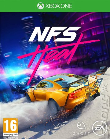 NFS Heat - Xbox One Cover & Box Art
