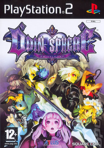 Odin Sphere - PS2 Cover & Box Art