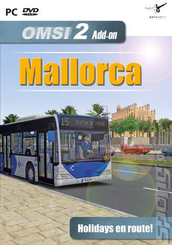 OMSI 2 Add-on Scenery Mallorca - PC Cover & Box Art