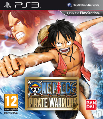 One Piece: Pirate Warriors - PS3 Cover & Box Art