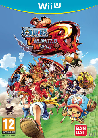 One Piece: Unlimited World: Red - Wii U Cover & Box Art