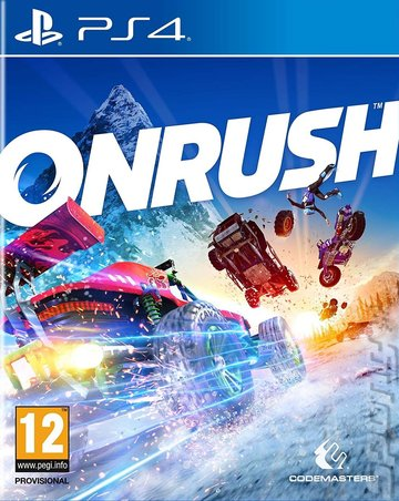 ONRUSH - PS4 Cover & Box Art