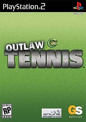 Outlaw Tennis - PS2 Cover & Box Art