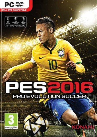 PES 2016: Pro Evolution Soccer - PC Cover & Box Art