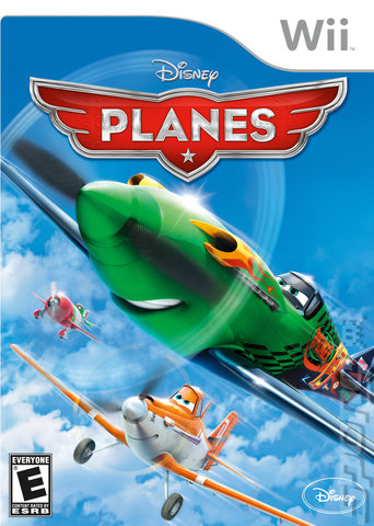 Disney: Planes - Wii Cover & Box Art