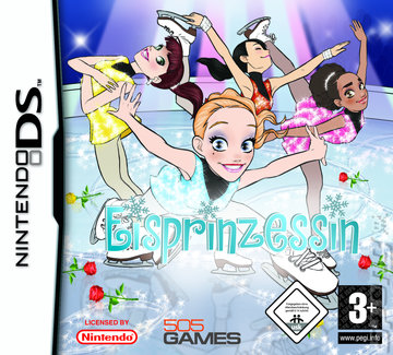 Princess on Ice - DS/DSi Cover & Box Art