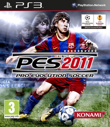 Pro Evolution Soccer 2011 - PS3 Cover & Box Art