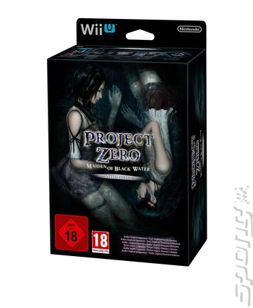 Project Zero: Maiden of Black Water - Wii U Cover & Box Art