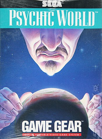Psychic World - Game Gear Cover & Box Art