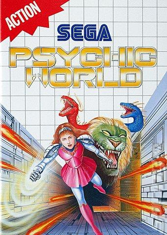 Sega Master System. Psychic World (Sega Master