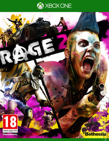 Rage 2 - Xbox One Cover & Box Art