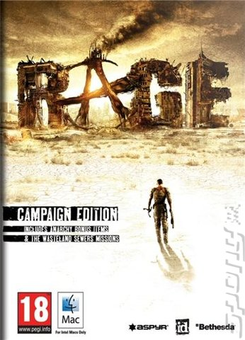 Rage: Campaign Edition - Mac Cover & Box Art